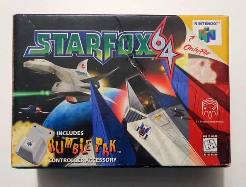 N64 Starfox 64 (CIB) USA