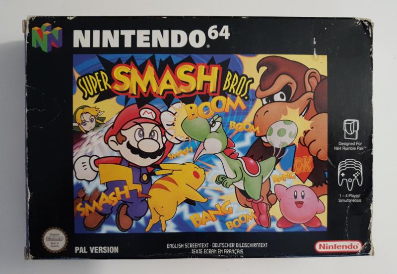 N64 Super Smash Bros (CIB) NEU6-1