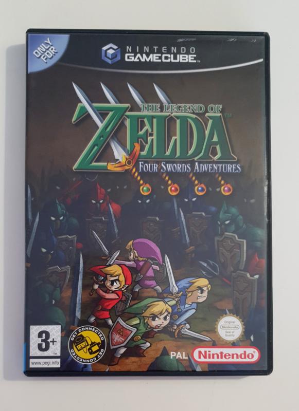 Gamecube The Legend of Zelda: Four Swords Adventures (CIB) HOL