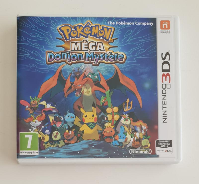 3DS Pokémon MEGA Donjon Mystère (CIB) FRA