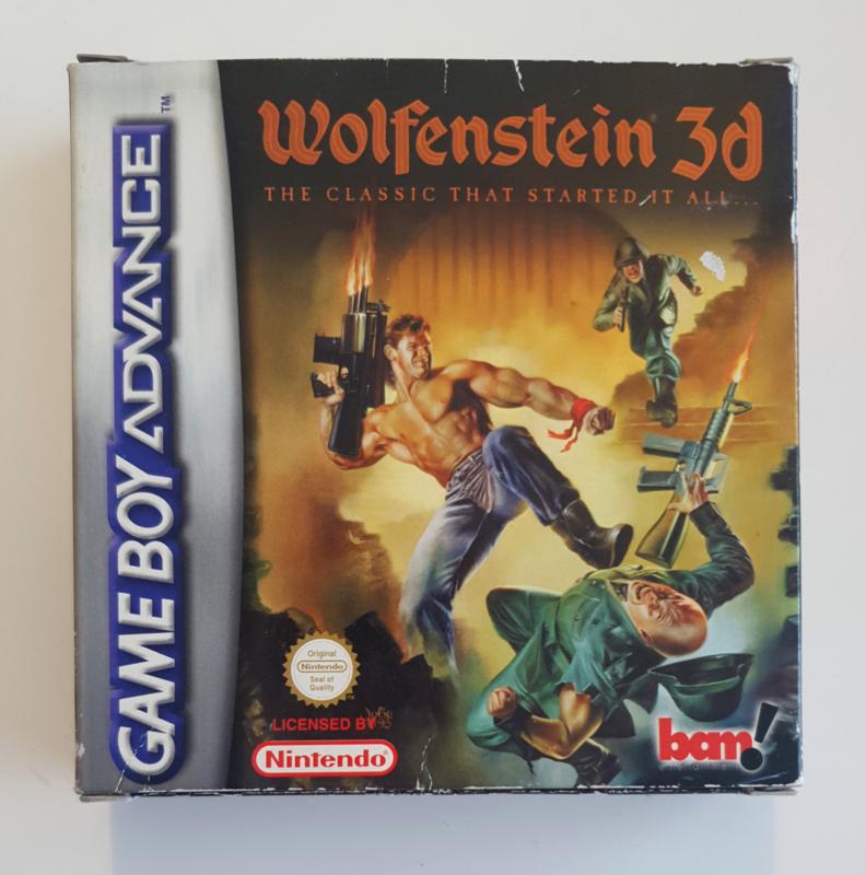GBA Wolfenstein 3D (CIB)