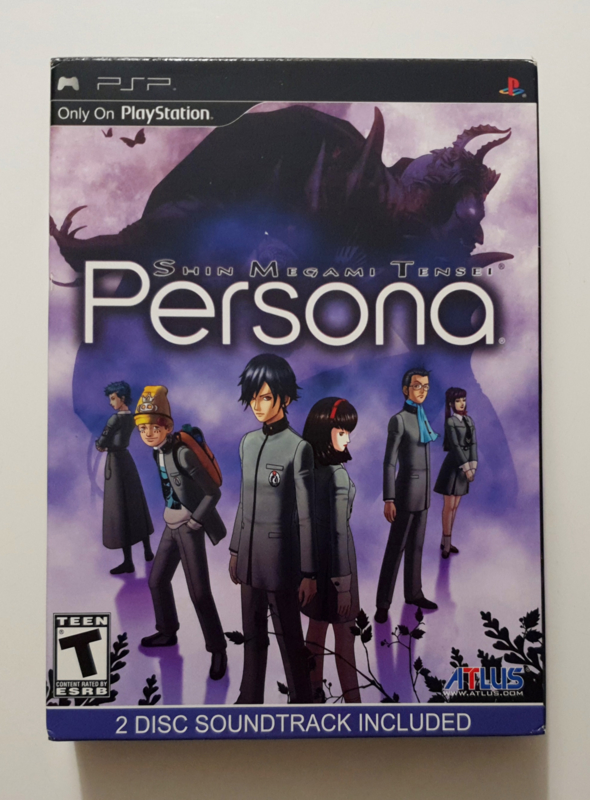PSP Shin Megami Tensei - Persona Collector's Edition (CIB) US Version
