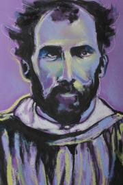 Portrait of Gustav Klimt