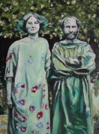 Gustav Kimt and Emilie Flöge