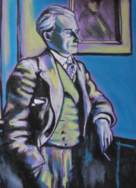 Portrait of Ravel with Cigarette