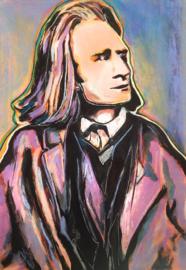 Portrait  of Liszt