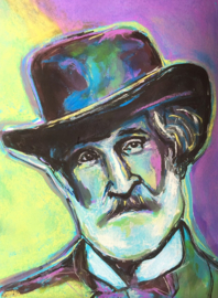 Portait of Verdi with Hat
