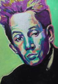 Portrait of Schiele in Green