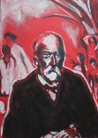 Portrait of an older Cezanne