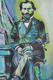 Portrait of Verdi in Chair