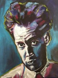Portrait of Schiele in Purple