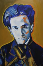 Portrait of Schiele in Blue