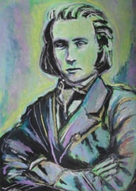 Portrait of Brahms