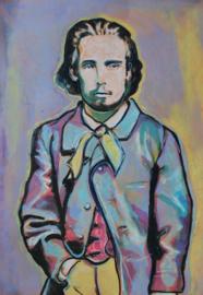 Portrait of a young Monet