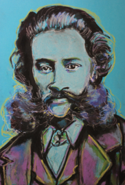 Portrait of Strauss
