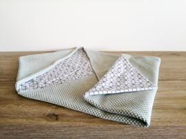 Wikkeldoek | Mint | Hexagon
