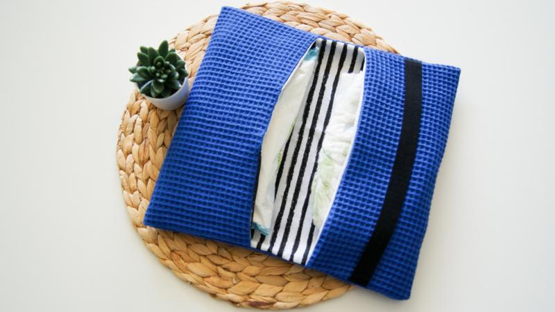 Luieretui | Kobalt | Stripes