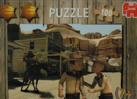Legpuzzel D -  Suske en Wiske - Texasrakkers  -  +7 jaar - 100 stukjes