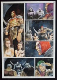 Apriyadi Kusbiantoro - originele pagina in kleur - Saul - deel 1 - de levende mantel - pagina 36 - 2018