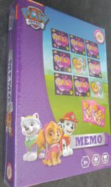 PAW Patrol Memo spel - bekend van Nickelodeon - 3 jaar+