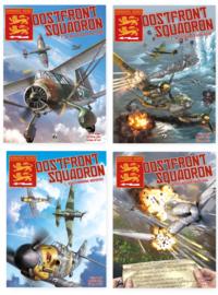 Oostfront squadron   - Combinatie aanbieding :  Delen 1 t/m 4 samen - hc - 2020
