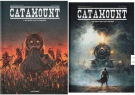 PRE-order - Catamount - PROMOpakket delen 1 en 2 samen  - De jeugd van Catamount / De trein der vervloekten - hc  - 2021 - NIEUW!