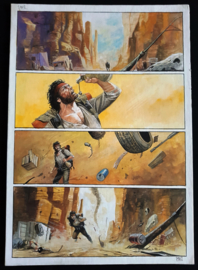 Apriyadi Kusbiantoro - originele pagina in kleur - Saul - deel 1 - de levende mantel - pagina 1 - 2017