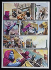 Apriyadi Kusbiantoro - originele pagina in kleur - de verloren verhalen van Lemuria - deel 3 - pagina 4 - 2017