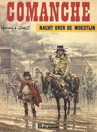 Comanche - Nacht over de woestijn - deel 5 - sc - herdruk  - 1979