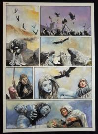Apriyadi Kusbiantoro - originele pagina in kleur - Saul - deel 1 - de levende mantel - pagina 26 - 2018