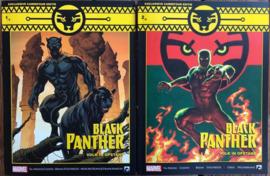 Black Panther - Volk in Opstand -  delen 1 en 2 - excl. Carrefour editie - gelimiteerde oplage 200 stuks  - sc - 2020 - NIEUW!