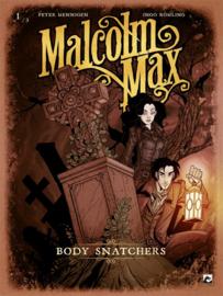 Malcolm Max - Body snatchers - deel 1 - sc - 2021 - NIEUW