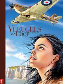 Vleugels van Hoop - Deel 1 - Engelen - hc luxe met linnen rug - met prent - gelimiteerde oplage 150 ex. - 2021 - NIEUW!