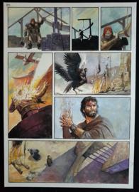 Apriyadi Kusbiantoro - originele pagina in kleur - Saul - deel 1 - de levende mantel - pagina 24 - 2017