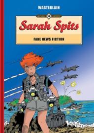 Sarah Spits - Fake News Fiction - deel 2 - hardcover - gelimiteerde oplage 2021 - Nieuw!
