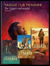 De Tijger ontwaakt  + Chinaman 3 integrale albums - Luxe hardcovers met linnen rug en 4x gesigneerde prent - gelimiteerde oplage 100 ex. - 4x hc - 2021 - NIEUW!