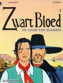 Zwart Bloed - Deel 1 - De geur van illusies -  sc - 1ste druk - 1996