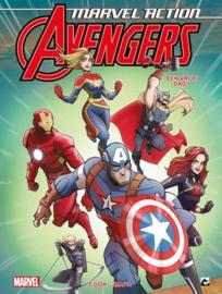 Avengers Marvel Action - Een dagje vrij! -  deel 5  - sc - 2021 - Nieuw!