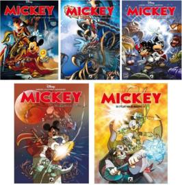 Mickey - de Cyclus van de Magiërs - Complete serie - Delen 1 t/m 5  - sc - 2015/2016