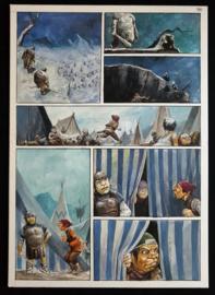 Apriyadi Kusbiantoro - originele pagina in kleur - Saul - deel 1 - de levende mantel - pagina 32 - 2018