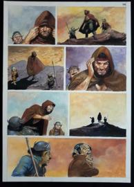 Apriyadi Kusbiantoro - originele pagina in kleur - Saul - deel 1 - de levende mantel - pagina 30 - 2018