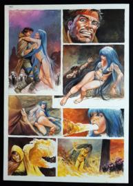 Apriyadi Kusbiantoro - originele pagina in kleur - Saul - deel 1 - de levende mantel - pagina 39 - 2018