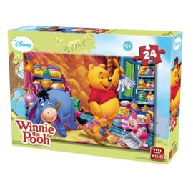 Legpuzzel - Disney - Winnie de Poeh - 24 stukjes - +3jaar  - 2018