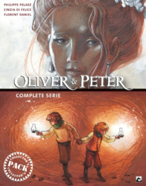 Oliver & Peter Collector's pack - delen 1 t/m 3 + Artbook  - 4xhc - 2020 - NIEUW!