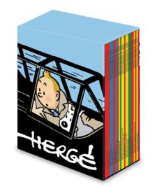 KUIFJE : Verzamelbox 24 klassieke softcover Kuifje-albums - 2019