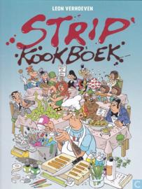 Stripkookboek  - 53 tekenaars / 58 recepten - deel 1 - hc - 2019 - NIEUW!