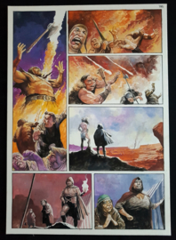 Apriyadi Kusbiantoro - originele pagina in kleur - Saul - deel 1 - de levende mantel - pagina 35 - 2018