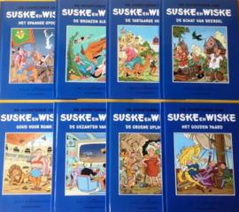 Suske en Wiske HUMO Blauwe reeks -8 delen - deel 1 t/m 8 - hc - 2020 - NIEUW!