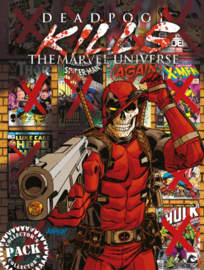 Deadpool kills the Marvel Universe (again) - collector's pack (CP) -  4-delig  - Marvel - sc - 2018