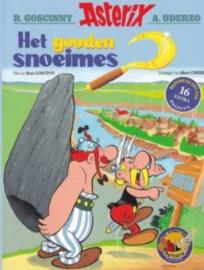 PRE-order - Asterix  - Het gouden Snoeimes - deel 2 - Grootformaat / linnen rug  - hc - 2021